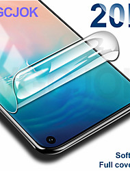 cheap -20d full cover soft hydrogel film for samsung galaxy s10e s10 s8 s9 plus s7 edge note 8 9 screen protector protective film case
