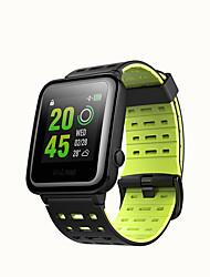abordables -WEILE Hey 3S Hommes femmes Montre Connectée Android iOS Wi-Fi Bluetooth Imperméable Ecran Tactile GPS Moniteur de Fréquence Cardiaque Mesure de la pression sanguine ECG + PPG Minuterie Chronomètre