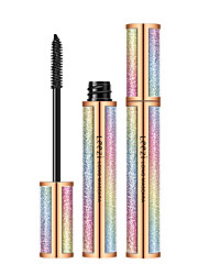 abordables -leezi liz ciel étoilé 4d long mascara épais curling mascara maquillage allongement des cils imperméable durable
