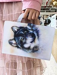 Недорогие -чехол для amazon kindle paperwhite 2018 кошелек / визитница / противоударные чехлы для тела wolf pu кожаный чехол для amazon kindle paperwhite 2018