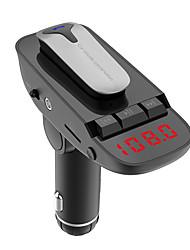 cheap -Car Bluetooth Headset Bluetooth Car Kit Bluetooth Handsfree Car MP3 Player
