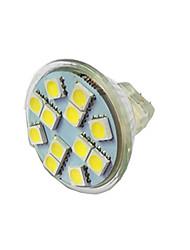 cheap -1pc 1.5 W LED Spotlight 100 lm MR11 12 LED Beads SMD 5050