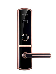 cheap -Exquisite Acrylic Credit Card Electronic Lock Hotel Star Door Lock Induction Smart Lock