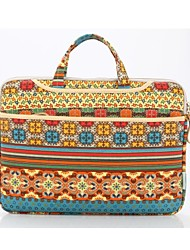cheap -KAYOND 13.3 Inch Laptop / 14 Inch Laptop / 15.6 Inch Laptop Briefcase Handbags Canvas Bohemian for Women Shock Proof