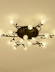 cheap -16 Bulbs JSGYlights 85 cm New Design Flush Mount Lights Metal Glass Novelty Painted Finishes Nordic Style Generic / G4