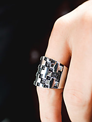 cheap -Band Ring Sculpture Silver Stainless Steel Cross Stylish Vintage Trendy 1pc 7 8 9 10 11 / Men's