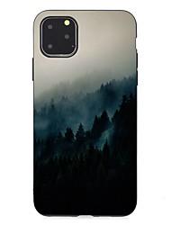 Недорогие -чехол для apple iphone 11 / iphone 11 pro / iphone 11 pro max ультратонкий / матовый / рисунок задняя крышка декорации тпу мягкий