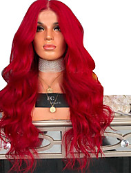 cheap -Synthetic Wig Body Wave Layered Haircut Wig Very Long Watermelon Red Synthetic Hair 68~72 inch Women's New Arrival Red