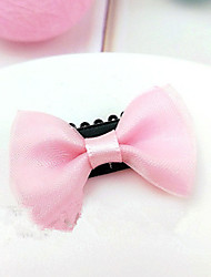 cheap -Cat Dog Hair Accessories Hair Bow Dog Clothes Random Color White Red Costume Terylene Solid Colored Birthday