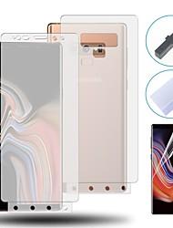 Недорогие -3d полная обложка нано фильм примечание 9 8 протектор экрана для Samsung Galaxy S8 S9 S10 плюс A50 фронт&усилитель; назад ТПУ гидрогелевая пленка
