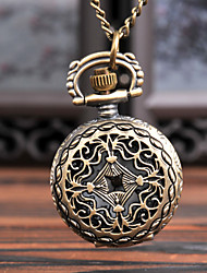 cheap -Men's Pocket Watch Quartz Vintage Style Creative New Design Analog - Digital Vintage - Bronze