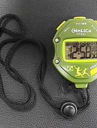 cheap -Men's Women's Sport Watch Stopwatch Digital Black No Chronograph Luminous Stopwatch Digital Outdoor New Arrival - Green One Year Battery Life