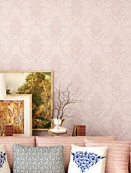 cheap -Flower Pattern PVC Self-adhesive Wallpaper Floral / Botanical / Art Deco