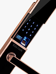 cheap -Slide Fingerprint Password Lock Smart Security Door Electronic Door Lock Home Wooden Door App Door Lock