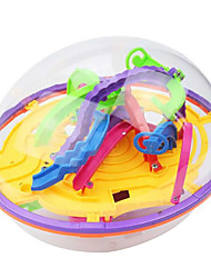 cheap -3D Maze Puzzle Box Maze Ball Focus Toy Transparent Body Child's Adults' All Toy Gift 1 pcs
