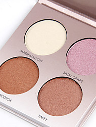 cheap -4 Colors Pressed powder Bronzers Highlighters Dry / Shimmer / Combination Concealer Face China Makeup Cosmetic Pearl Paper