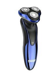 Недорогие -Dsp 3 в 1 триммер для носа моющийся аккумуляторная электрическая бритва с тройным лезвием бритва для бороды сухая влажная работа 3 Вт