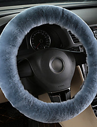 cheap -Teak  Wool Soft Steering Wheel Cover Guard Truck Car Accessory