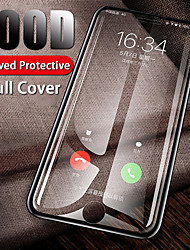 cheap -100d full protective glass on for iphone 7 8 6 6s plus curved cover screen protector for iphone x xr xs max tempered glass film