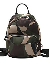 cheap -Nylon Zipper Floating Backpack Shopping Black / Red / Rainbow