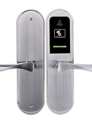 cheap -Factory OEM KDLY2018RF Stainless Steel Card Lock Smart Home Security Android System RFID Hotel Wooden Door (Unlocking Mode Card)