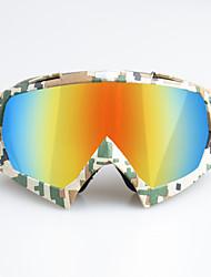Недорогие -уникальные мотоциклетные очки для беговых лыж очки для велоспорта очки для занятий спортом на открытом воздухе рамка цвета малая камуфляжная рамка - красная линза