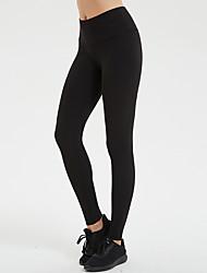 cheap -Women's High Waist Yoga Pants Leggings Butt Lift Breathable Quick Dry White Black Dark Purple Gym Workout Running Fitness Sports Activewear High Elasticity Skinny / Royal Blue / Navy Blue / Burgundy