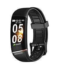 cheap -Td19 Smart Bracelet Calorie Consumption Heart Rate Blood Pressure Oximeter Step Multi-Sports Mode Men's And Women's Universal for IOS Android