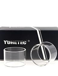 abordables -tube de remplacement en verre Yuhetec pour aspire cleito 120 pro 3ml 2pcs