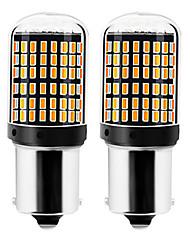 cheap -2pcs 1156 / 7440 Car Light Bulbs 22 W SMD 3014 144 LED Turn Signal Lights / Brake Lights / Reversing (backup) Lights For universal All years