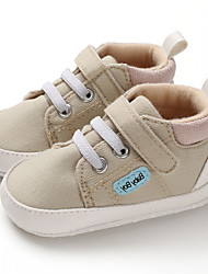 cheap -Boys' First Walkers Canvas Sneakers Infants(0-9m) / Toddler(9m-4ys) Coffee / Blue / Almond Fall / Winter