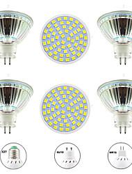cheap -6pcs 6 W LED Spotlight 600 lm GU10 MR16 60 LED Beads SMD 2835 Warm White White 220-240 V 110-120 V