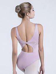 cheap -Ballet Leotards Women's Training / Performance Nylon / Lycra Lace / Ruching Sleeveless Leotard / Onesie