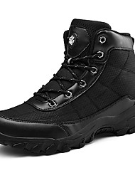 cheap -Men's Hiking Shoes Anti-Slip Wearable Comfortable Hiking Outdoor Exercise Spring &  Fall Black