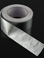 cheap -25m Silver Fiberglass Exhaust Header Wrap Car Motorcycle Pipe Heat Protection Tape