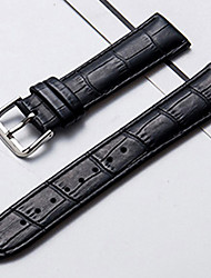 cheap -Genuine Leather / Leather / Calf Hair Watch Band Strap for Black / Brown Other / 20cm / 7.9 Inches 1cm / 0.39 Inches / 1.2cm / 0.47 Inches