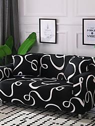 abordables -Housse de canapé Housses en polyester avec ruban coloré