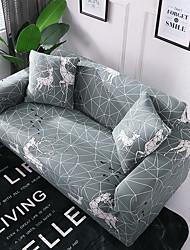 abordables -housse de sofa geometrie geometrie imprimee cerf
