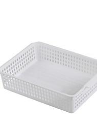 cheap -Plastic Rectangle Cute Home Organization, 2pcs Storage Baskets