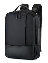 Недорогие -Большая вместимость Нейлон Молнии / Несколько слоев рюкзак Сплошной цвет Повседневные Коричневый / Черный / Лиловый / Наступила зима