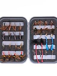 cheap -1 pcs Flies Soft Bait Flies Lure Packs Sinking Bass Trout Pike Fly Fishing Freshwater Fishing Carp Fishing Metal / Lure Fishing / General Fishing