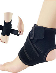 cheap -Safety Gear Ankle Brace Other Sport Support for Casual Leisure Sports Winter Sports Magnetized Easy dressing Natural Polyster Mixed Material 1 Pair Sport Casual Performance Black