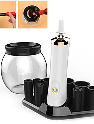 cheap -Creative Electric Rotating Makeup Brush Cleaner Dryer Washing Tool Protect Bristle