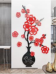 abordables -mur de vase acrylique