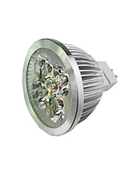 cheap -1pc 4 W LED Spotlight 300 lm MR16 4 LED Beads High Power LED Warm White