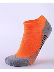 cheap -Compression Socks Athletic Sports Socks Running Socks Men's Women's Ankle Socks Wearable Limits Bacteria Yoga Running Sports Winter Cotton Chinlon Black