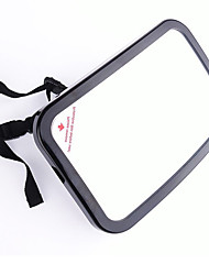 cheap -Car Back Seat Shatterproof Baby Safety Mirror 360 Adjustable Rear View Baby Backseat Mirror Black