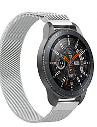 abordables -20 / 22mm milanese mesh dragonne magnétique pour samsung galaxy regarder 42 / 46mm