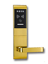 cheap -Factory OEM PRND-RF209 Zinc Alloy Card Lock Smart Home Security Android System RFID Hotel Wooden Door (Unlocking Mode Card)