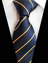 abordables -Homme Soirée / Travail / Actif Cravate Rayé